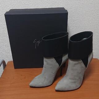 ジュゼッペザノッティ(GIUZEPPE ZANOTTI)のGIUSEPPE ZANOTTI  ショートブーツ 37 1/2(ブーツ)
