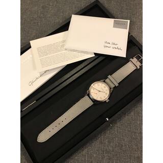 ユンハンス(JUNGHANS)の【極美品】nomos ノモス クラブキャンパス campas CL1A1W2CP(腕時計(アナログ))