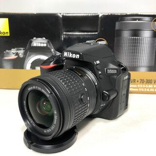 ニコン(Nikon)のNikon  D5600 AF-P 18-55 VR KIT 4407ショット(デジタル一眼)