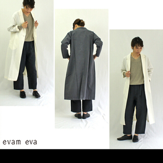 エヴァムエヴァ(evam eva)の⭐︎くーま様専用⭐︎✳︎新品未使用✳︎evameva ロングジャケット(ロングコート)