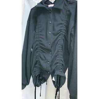 lilLilly - リルリリー変形ジャケット黒