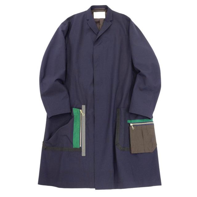 kolor(カラー)のkolor 21ss 心斎橋parco限定コート メンズのジャケット/アウター(ステンカラーコート)の商品写真