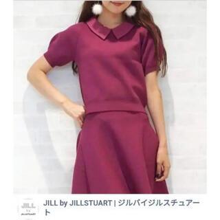 ジルバイジルスチュアート(JILL by JILLSTUART)のJILLSTUART ワンピース セットアップ ピンク パープル プラム(ミニワンピース)