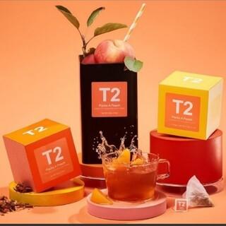 【賞味期限4月】T2 ティートゥー パックスアピーチ Packs A Peach(茶)