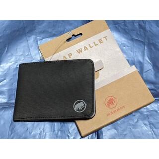 マムート(Mammut)の【新品】MAMMUT フラップ ウォレット ブラック(折り財布)