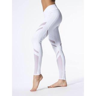 Alo yoga epic メッシュ ホワイト XXS レギンス 新品タグ付き(ヨガ)