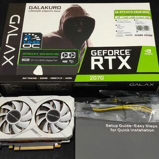 ギャラクシー(Galaxy)のNVIDIA GeForce RTX 2070[GALAKURO](PCパーツ)