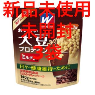モリナガセイカ(森永製菓)のおいしい大豆プロテインビターチョコ味140g (プロテイン)