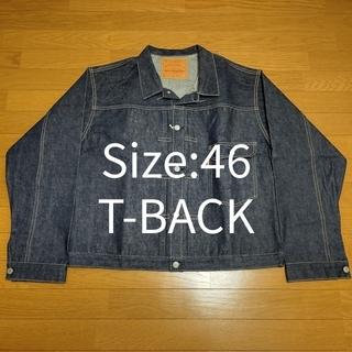 ウエアハウス(WAREHOUSE)のSize46 T-BACK DEAD STOCK BLUE Lot 2000XX(Gジャン/デニムジャケット)
