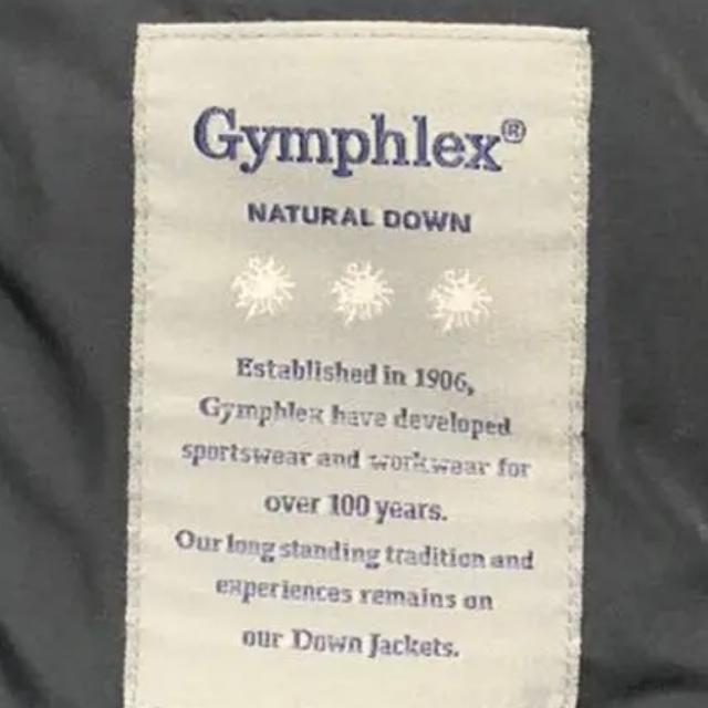 GYMPHLEX(ジムフレックス)のGymphlex  ダウンジャケット 黒 レディースのジャケット/アウター(ダウンジャケット)の商品写真