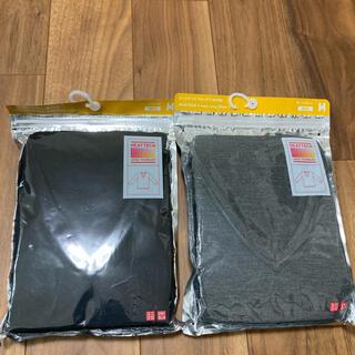 ユニクロ(UNIQLO)のユニクロ ヒートテック VネックT(9部袖)(Tシャツ/カットソー(七分/長袖))