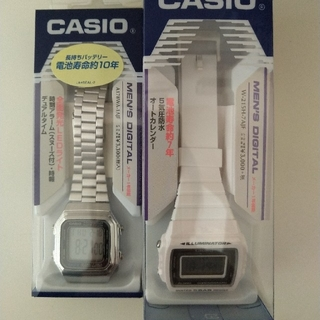カシオ(CASIO)のCASIO  A178WA-1AJF、W-215H-7AJF   チープカシオ(腕時計(デジタル))