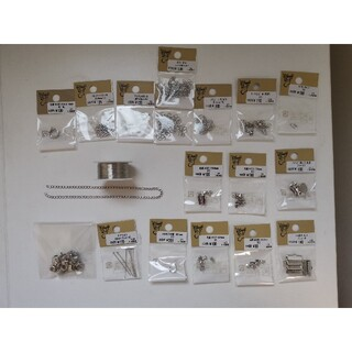 キワセイサクジョ(貴和製作所)のハンドメイドアクセサリー素材 シルバー金具 1(各種パーツ)