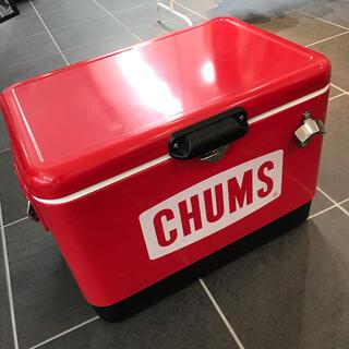 チャムス(CHUMS)の【美品】チャムス クーラーボックス CHUMS(その他)