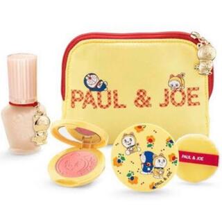 PAUL & JOE - PAUL & JOE クリスマスコフレ ドラえもん PAUL & JOE