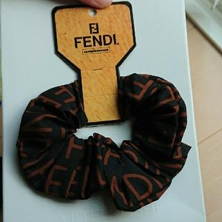 フェンディ(FENDI)の値下げ  新品 タグ付き フェンディ シュシュ(ヘアゴム/シュシュ)