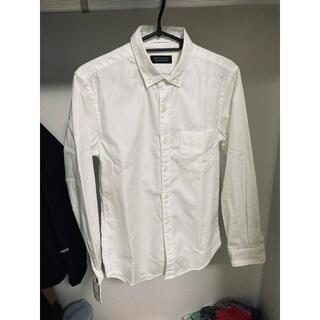 ナノユニバース(nano・universe)のナノユニバース オックスフォードシャツ ホワイト S(シャツ)