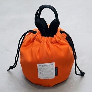 プラージュ(Plage)のJANE SMITH ジェーンスミス 巾着 バッグ オレンジ(ハンドバッグ)