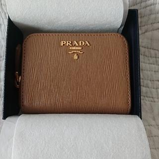 PRADA - プラダ VITELLOMOVE コインケース カードケース ミニウォレット 財布