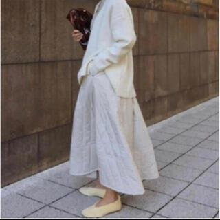 マチャット キルティングスカート(ロングスカート)