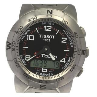 ティソ(TISSOT)のティソ Tタッチ クロノグラフ  クォーツ メンズ 【中古】(腕時計(アナログ))