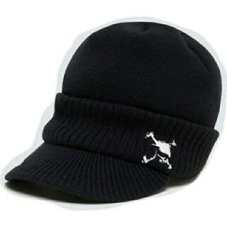 オークリー(Oakley)のOAKLEY オークリー ツバ付きニット帽(ニット帽/ビーニー)