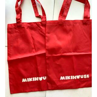 ミキハウス(mikihouse)の新品★ミキハウス★ショップバッグ★2枚(ショップ袋)
