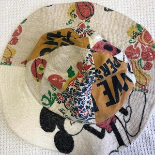ゴートゥーハリウッド(GO TO HOLLYWOOD)のデニムアンドダンガリー ミッキー ベビー用帽子(帽子)