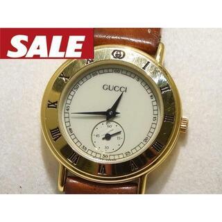 グッチ(Gucci)のグッチ レディース クォーツ 時計 ☆ 3000.2.L スモールセコンド 2(腕時計)