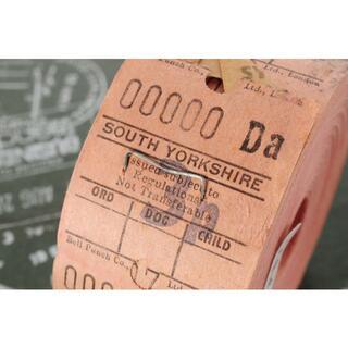 【希少ナンバー】◆海外 イギリス ヴィンテージ バス ロールチケット 3p◆(印刷物)