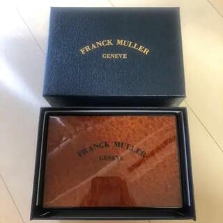 フランクミュラー(FRANCK MULLER)のフランクミューラーFRANCK MULLER 腕時計 箱 ケース 小物入れ(腕時計)