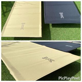 ドッペルギャンガー(DOPPELGANGER)のDODコット(バックインベット)&コールマンインフレーターマット×2(寝袋/寝具)