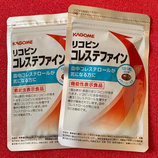 カゴメ(KAGOME)のカゴメ リコピン コレステファイン 31粒×2袋セット(その他)