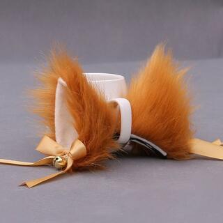 ☆カチューシャプレゼント中! 鈴 リボン かわいい 猫耳 パッチンクリップ(小道具)