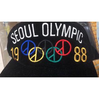ピースマイナスワン(PEACEMINUSONE)の【初期】peaceminusone  seoul olympic cap(キャップ)