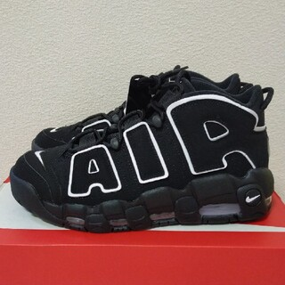 ナイキ(NIKE)の26.5cm NIKE Air more uptempo black white(スニーカー)