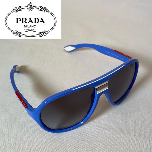 PRADA(プラダ)のプラダ PRADA サングラス ブルー 青 メンズのファッション小物(サングラス/メガネ)の商品写真