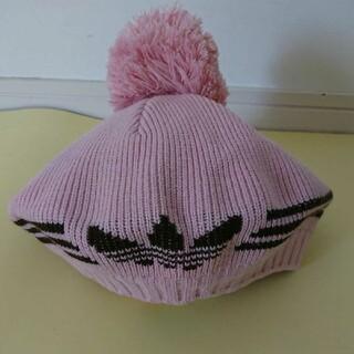 アディダス(adidas)のアディダス ニットベレー帽(ニット帽/ビーニー)