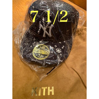 ニューエラー(NEW ERA)のKITH FOR NEW ERA YANKEES CAP  7 1/2 59.6(キャップ)