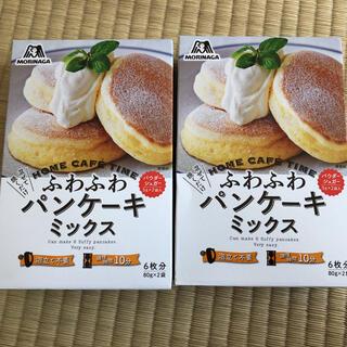 森永製菓 - 森永 ふわふわパンケーキミックス 2箱セット