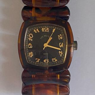 バーニーズニューヨーク(BARNEYS NEW YORK)の【タイムセール】腕時計  Time Will Tell タイムウィルテル(腕時計)