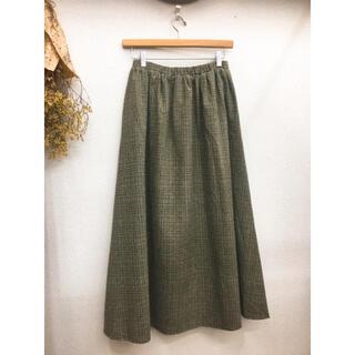 merlot - フィリル ロングスカート フレアスカート