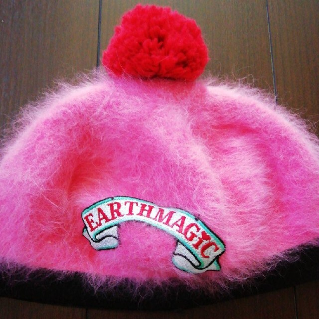 EARTHMAGIC(アースマジック)のEARTHMAGIC アースマジック ベレー帽 帽子 56 キッズ/ベビー/マタニティのこども用ファッション小物(帽子)の商品写真