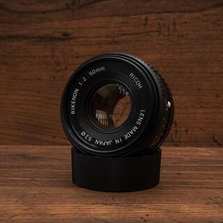リコー(RICOH)のRICOH Rikenon 50mm F2 リケノン オールドレンズ(レンズ(単焦点))
