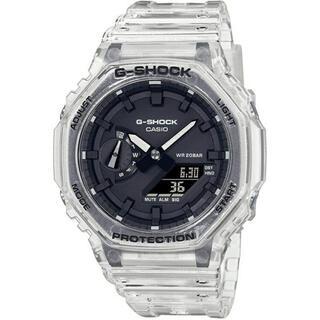 ジーショック(G-SHOCK)の新品未使用 G-SHOCK GA-2100SKE-7AJF スケルトン 送料無料(腕時計(デジタル))