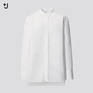 ユニクロ(UNIQLO)のマロン様専用*+Jスタンドカラーシャツ・GAPフリルシャツSET(シャツ/ブラウス(長袖/七分))