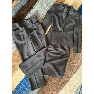 イオン(AEON)の美品 スーツ ジャケット スカート パンツ 3点セット(スーツ)