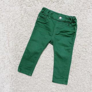エイチアンドエム(H&M)の美品   H&M  グリーン   スキニーパンツ  (パンツ)