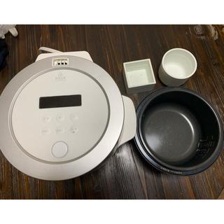 バルミューダ(BALMUDA)のバルミューダ 炊飯器 BALMUDA K03A-WH(炊飯器)