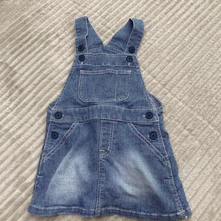 MUJI (無印良品) - 無印良品 ジャンパースカート